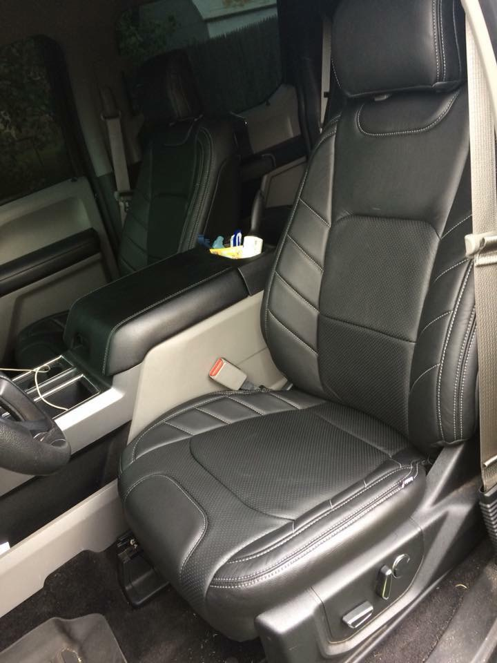 f150 katzkin seat skins limited pattern leather ford